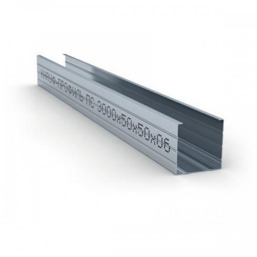 Профиль стоечный ПС- 50x50х0.5мм L-3м, фото